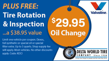 Tire Rotation Coupon >> Delta World Tire Company Coupons Kenner Coupon